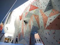Mur d'escalade fixe
