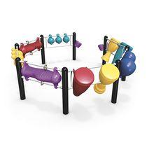 Structure de jeu en plastique / pour aire de jeux / musicale