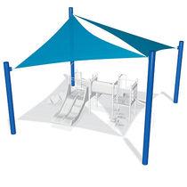 Structure d'ombrage en toile / pour aire de jeux