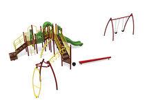 Structure de jeu en plastique