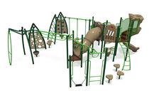 Structure de jeu en métal