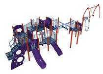 Structure de jeu en acier inoxydable