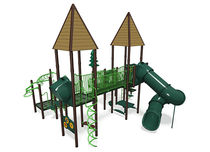 Structure de jeu en plastique / pour aire de jeux