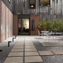 Carrelage d'extérieur / pour sol / en grès cérame / aspect pierre