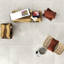 Carrelage d'intérieur / pour sol / en grès cérame / poli