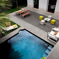 Carrelage d'intérieur / pour plage de piscine / pour sol / en grès cérame