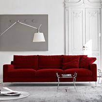 Canapé contemporain / en cuir / en tissu / par Antonio Citterio