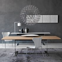 Table contemporaine / en bois / en métal / en marbre