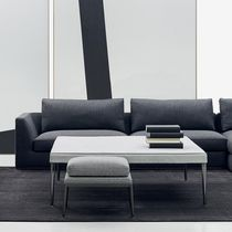Pouf contemporain / en tissu / en aluminium / par Antonio Citterio