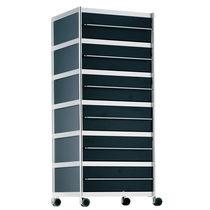 Caisson de bureau en métal / à 3 tiroirs / à 5 tiroirs / design original