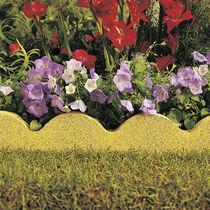 Bordurette de jardin / en béton / en pierre reconstituée / cintrée