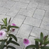 Pavé en béton / en pierre reconstituée / carrossable / perméable