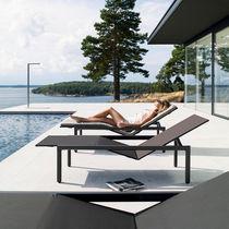 Bain de soleil contemporain / en Batyline® / en aluminium / de jardin
