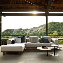 Canapé modulable / d'angle / contemporain / de jardin