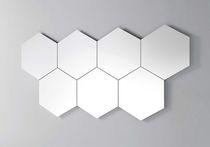 Miroir mural / lumineux (LED) / contemporain / professionnel