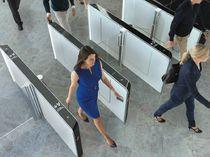 Tourniquet mi-hauteur / pour contrôle d'accès automatique / pour établissement public