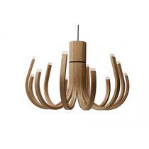 Lustre design original / en chêne / à LED