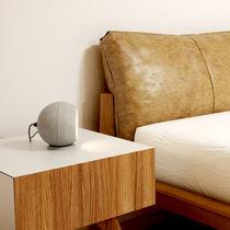 Lampe de table / contemporaine / en béton / fait main