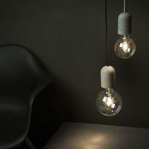 Lampe suspension / contemporaine / en béton