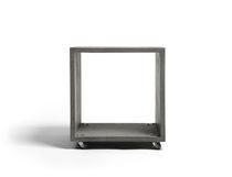 Table basse / contemporaine / en béton / rectangulaire
