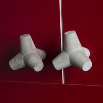 Bouton de meuble contemporain / en béton