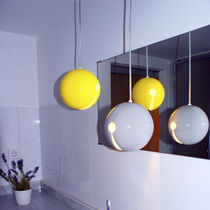 Lampe suspension / contemporaine / en céramique / de salle de bain
