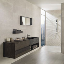 Carrelage de salle de bain / mural / en céramique / à rayures