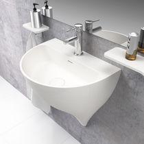 Vasque suspendue / en céramique / contemporaine