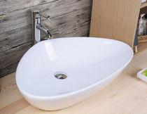 Vasque à poser / en céramique / contemporaine