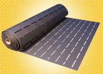 Sous-couche résiliente en rouleau / en polyéthylène / isolant / pour parquet