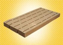 Sous-couche résiliente en panneau / en liège / isolant / pour parquet