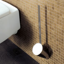 Brosse de toilette en laiton / murale / pour hôtel