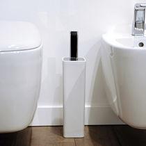 Brosse de toilette en chrome / en laiton / en céramique / de sol