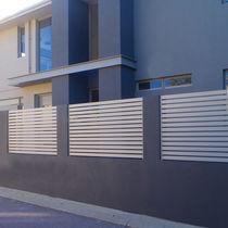 Clôture de jardin / en aluminium