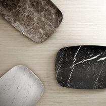 Plateau de service en marbre