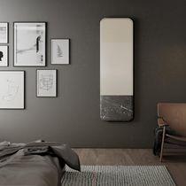 Miroir mural / avec étagère / contemporain / rectangulaire