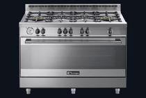 Cuisinière à gaz / en fonte / wok