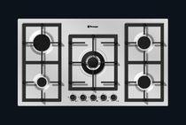 Table de cuisson à gaz / wok / en fonte / avec gril