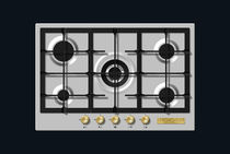 Table de cuisson à gaz / avec gril / wok / en fonte