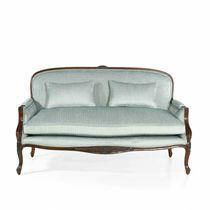 Canapé de style français / en tissu / en cuir / en chêne