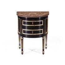 Table de chevet classique / en marbre / en chêne / en acajou