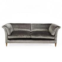 Canapé classique / en tissu / en cuir / 2 places