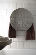 Sèche-serviettes électrique / accumulateur / en verre / contemporain