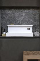 Vasque à poser / rectangulaire / en Solid Surface / design original