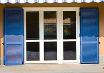 Volets battants / en acier / pour fenêtres / acoustiques