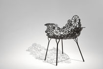 Fauteuil en acier / de jardin / design original