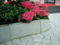 Bordure de jardin / de trottoir / en béton / courbée