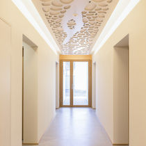 Panneau acoustique pour plafond / MDF / décoratif / professionnel