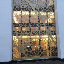 Panneau décoratif en HPL / pour aménagement extérieur / mural / perforé