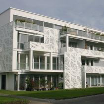 Panneau décoratif MDF / en HPL / pour aménagement extérieur / mural